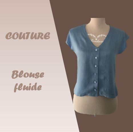Couture : Blouse fluide en Tencel