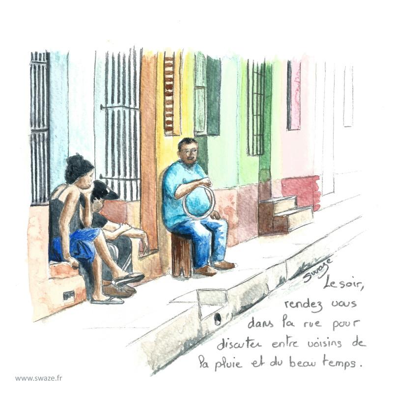 Trinidad - Soirée entre voisins