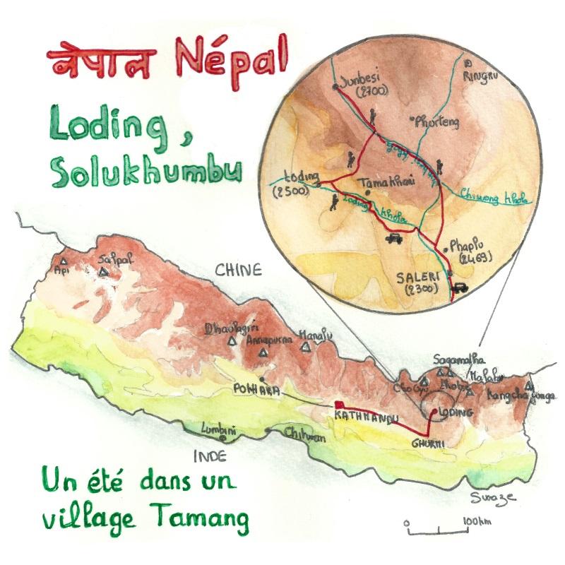 Népal un voyage dans l'Himalaya, à coté de l'Everest