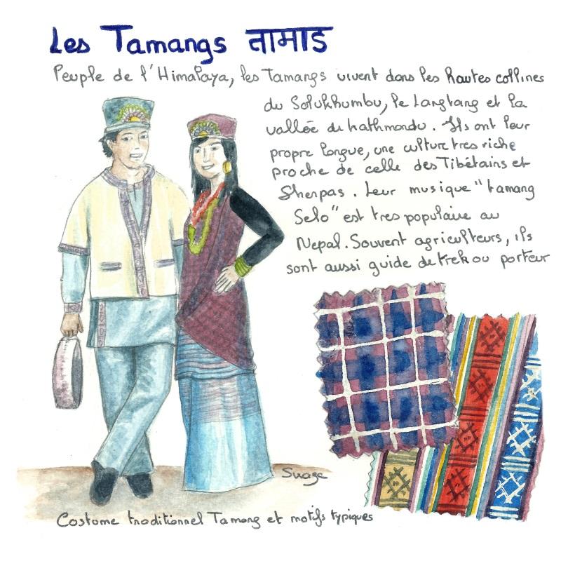 Les tamangs, une ethnie de l'Everest