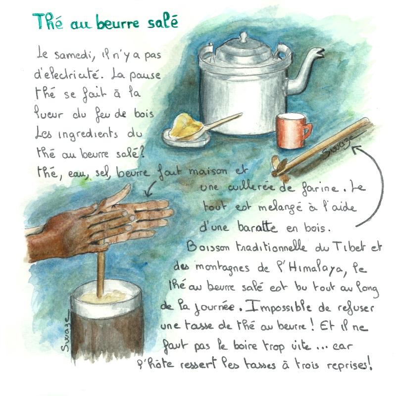 Le thé au beurre salé népalais
