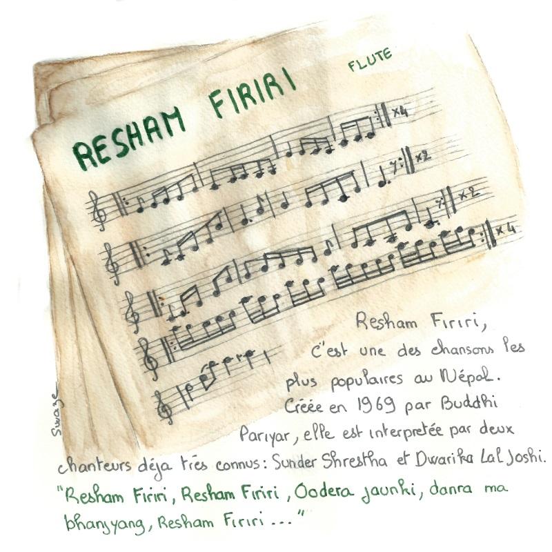 Resham Firiri la chanson la plus populaire auprès des trekkeurs