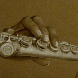 La flutiste