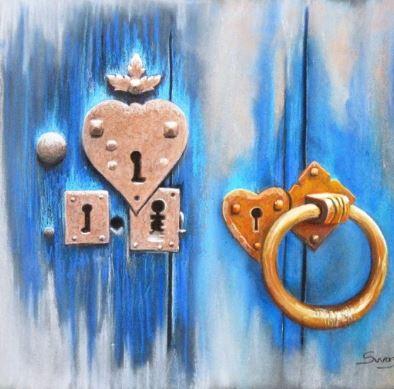 Open your heart - Ouvre ton coeur : des serrures en forme de coeur