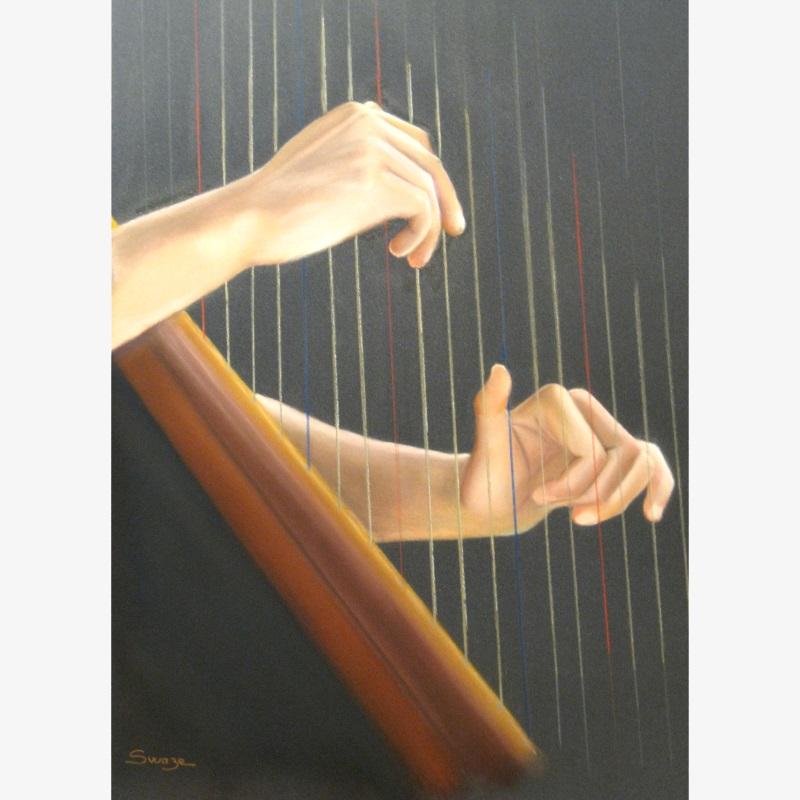 la joueuse de harpe