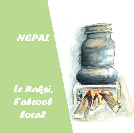 Nepal - Le Raksi, l'alcool local