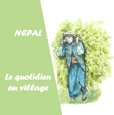nepal - le quotidien au village
