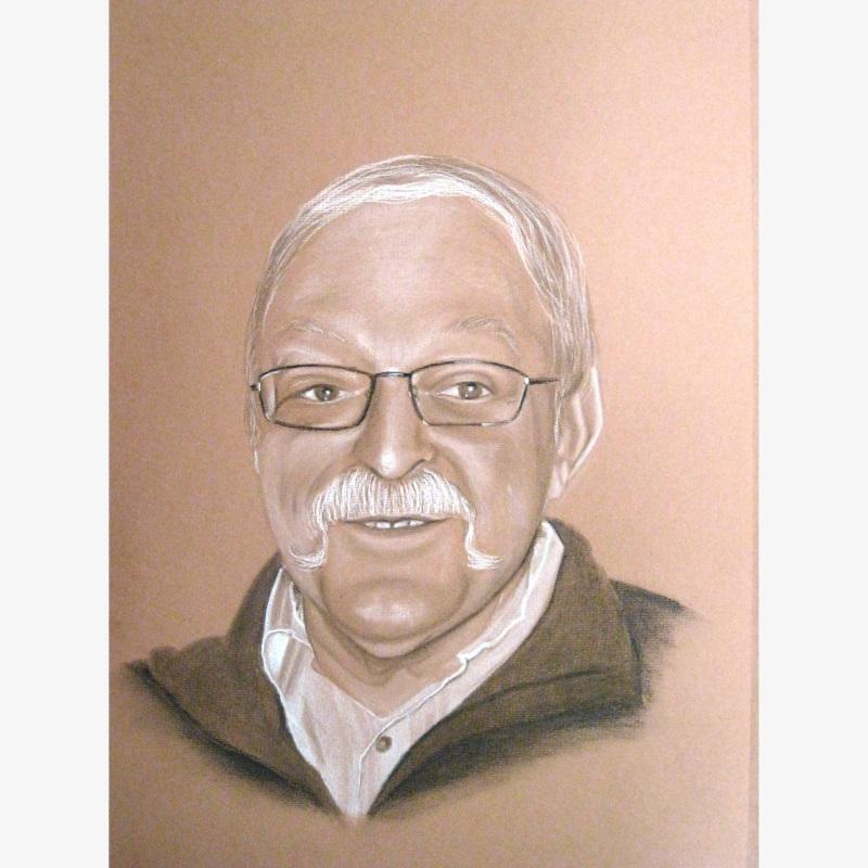 Papi Jean Portrait, l'homme à la moustache