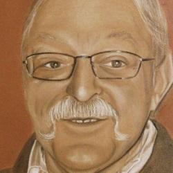 portrait d'un homme à la moustache