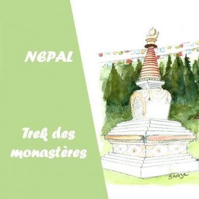 Trek des monastères