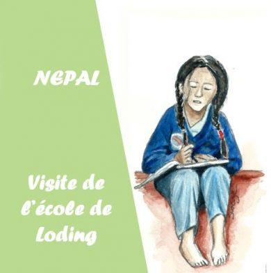 L'école primaire de Loding