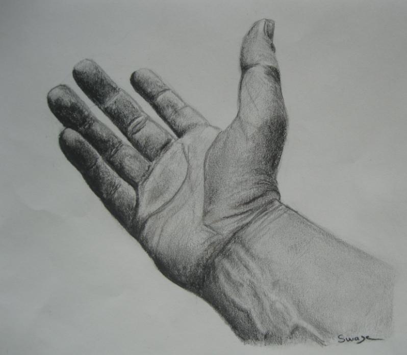 Tryptique - les mains - Viens