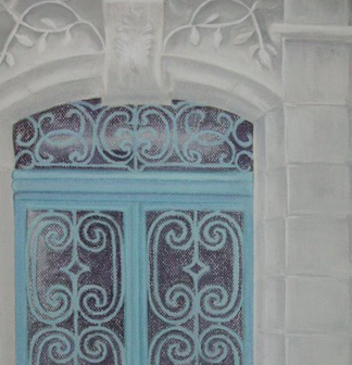 Pastel Heavens'door la porte du paradis zoom